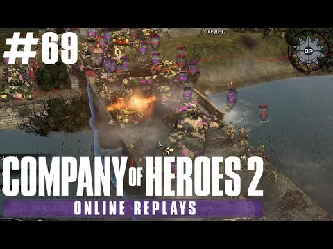 Company of Heroes 2 Online Replays #69 - The Russian Horde!