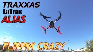 Traxxas LaTrax Alias Quadcopter - Flippin Crazy