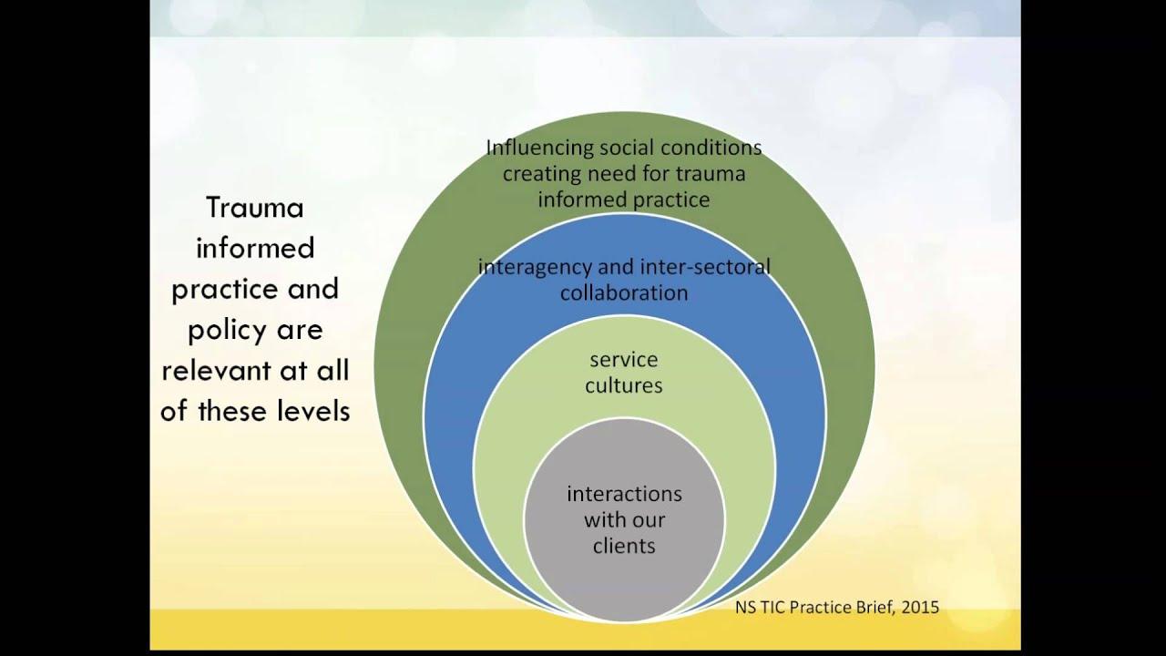 Trauma Informed Care - YouTube