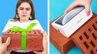 Подарки-сюрпризы своими руками / 13 идей оформления подарков!