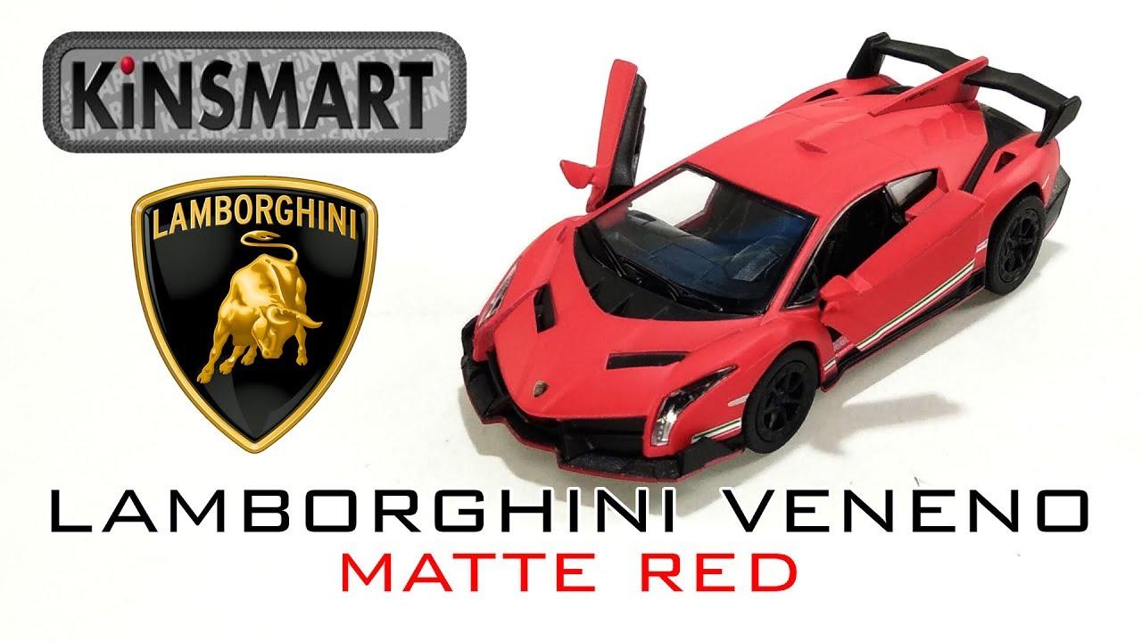 Kinsmart Lamborghini Veneno Diecast Unboxing Car Toy Scale 1 36