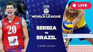 Serbia v Brazil - Group 1: 2017 FIVB Volleyball World League