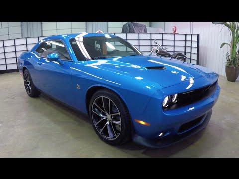 2015 Dodge Challenger RT Scat Pack | Blue | Leather | HEMI 392 | 17842