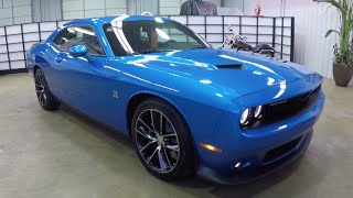 2015 Dodge Challenger RT Scat Pack | Blue | Leather | HEMI 392 | 17842