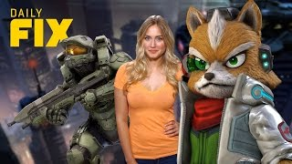 Star Fox Zero Release & Halo 5 Chief's Helmet - Ign Daily Fix