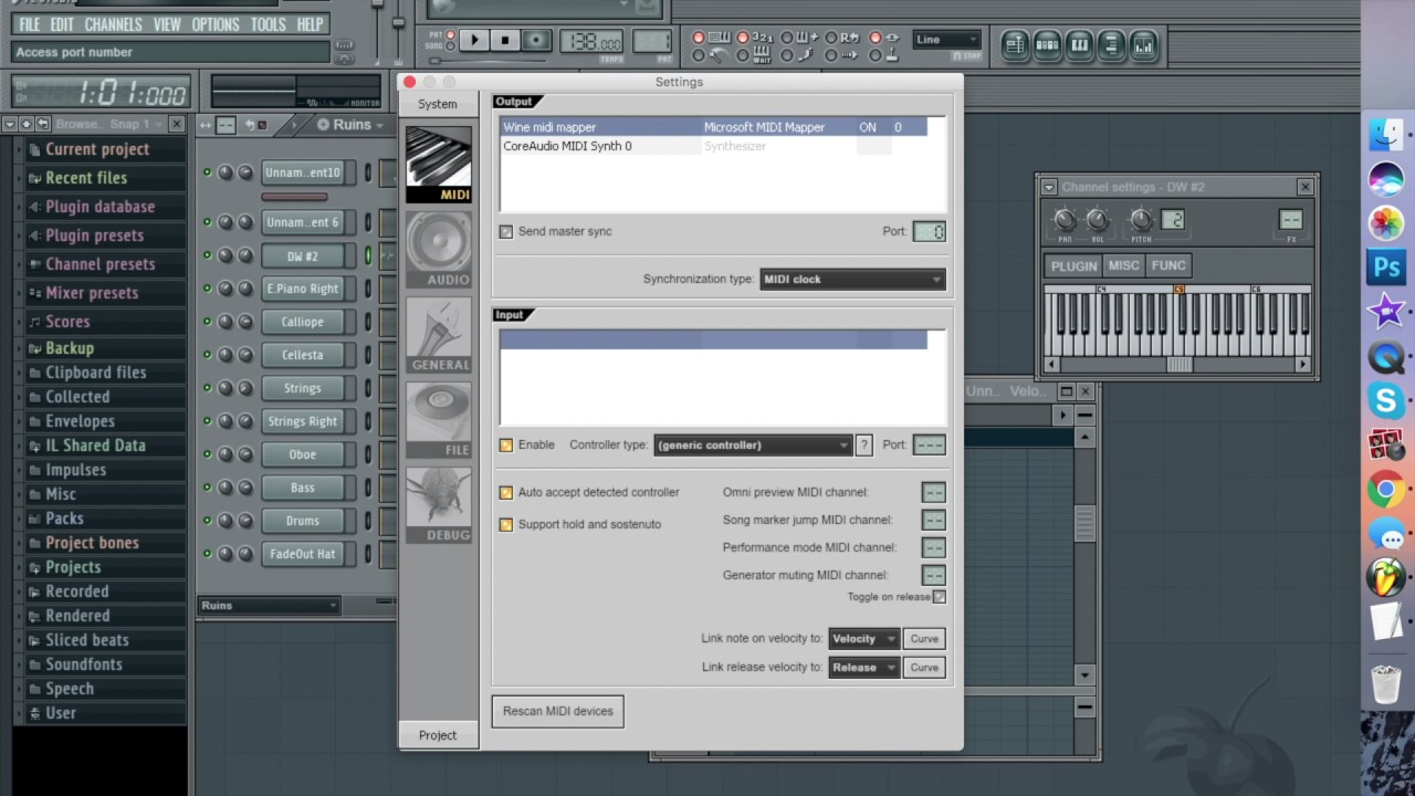 How to Fix FL Studio MIDI Not Playing Audio Problem