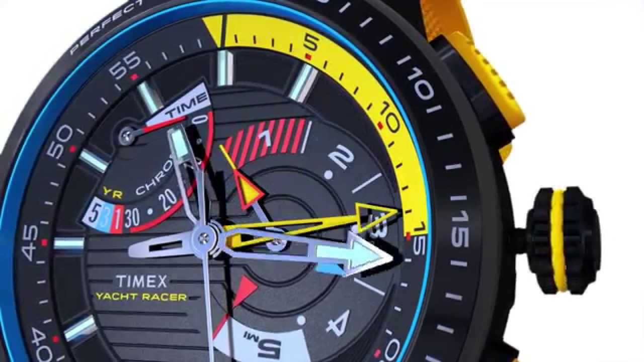 d9e2590155cd Timex Yacht Racer mit Intelligent Quartz Technologie - Erklärungsvideo