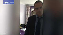 Son confronts salesman for 'selling confused mum £6k doors'