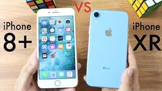 IPHONE XR Vs IPHONE 8 PLUS! Should You Upgrade Speed Test 🎧🔔
