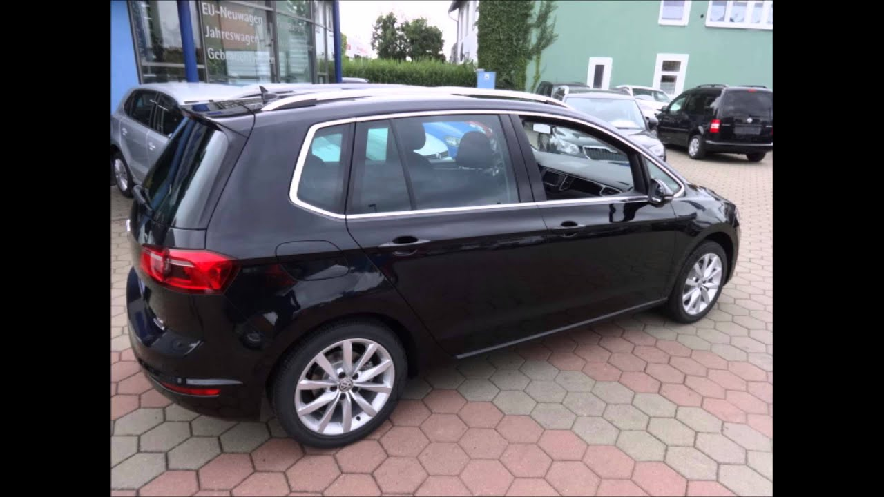 volkswagen golf sportsvan high 1 4tsi youtube. Black Bedroom Furniture Sets. Home Design Ideas