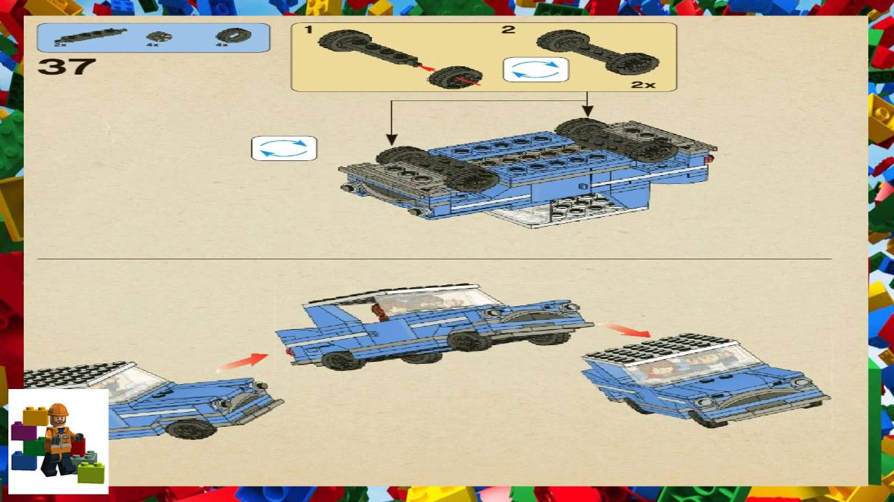 Lego Instructions Harry Potter 4841 Hogwarts Express Book 1