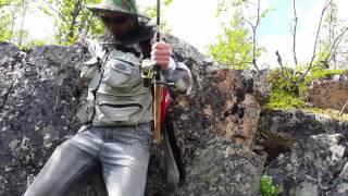 Ловля форели в Мурманской области