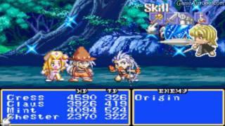Tales of Phantasia [GBA] Walkthrough - Part 64 - BOSS: Origin