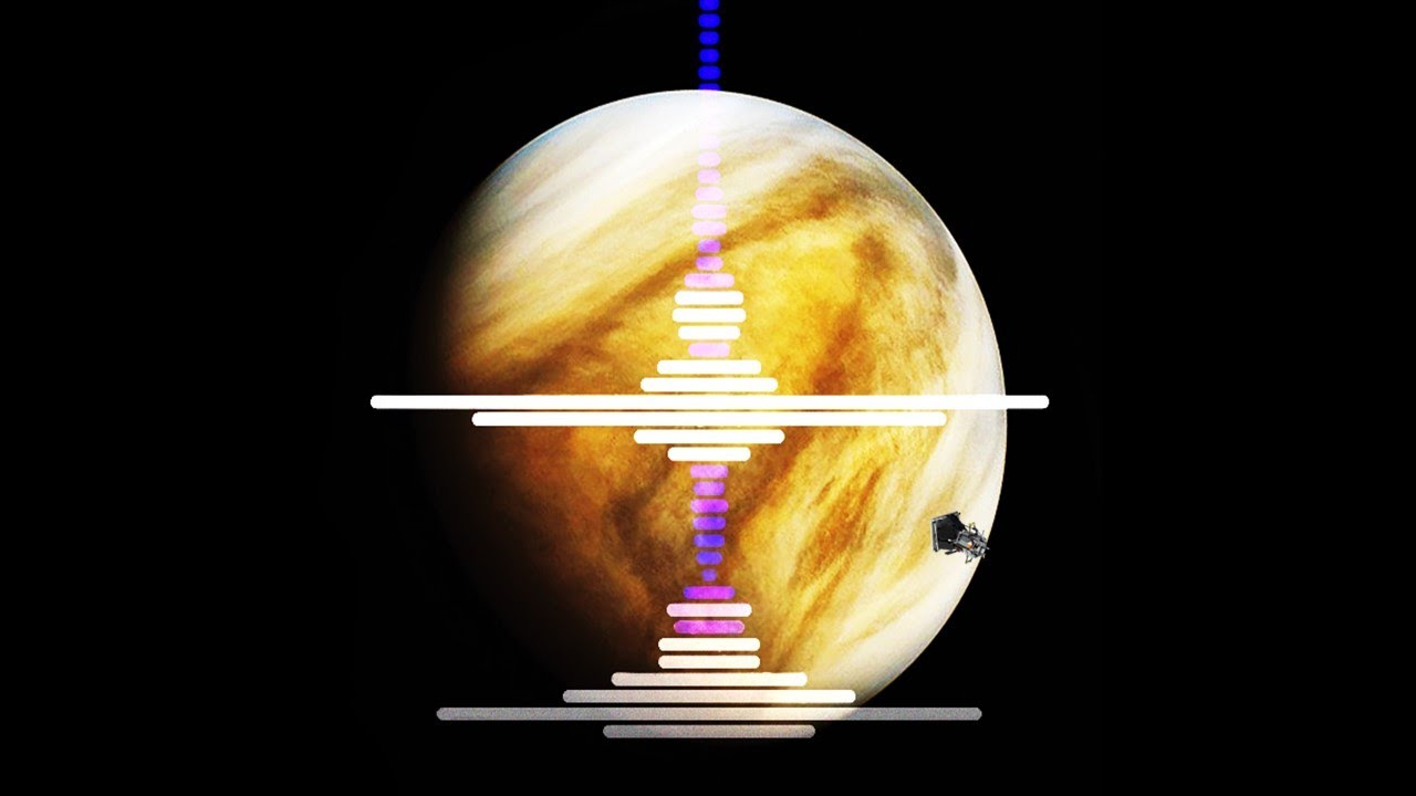 NASA의 탐사선은 금성의 대기에서 전파 신호를 포착했습니다.