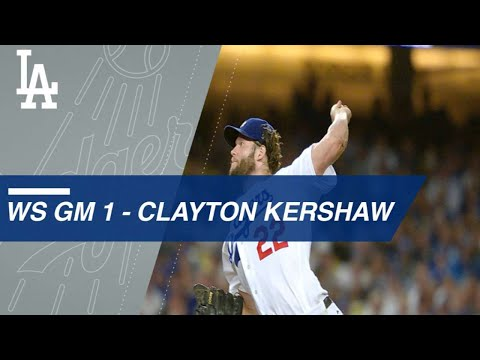 Clayton Kershaw hurls a gem in Game 1 of the World Series