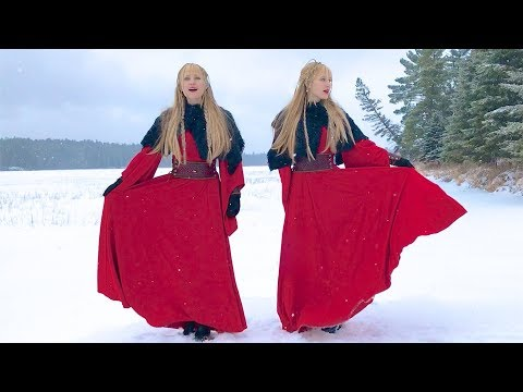 NORDIC SOLSTICE (Original Song) – Camille and Kennerly, Harp Twins