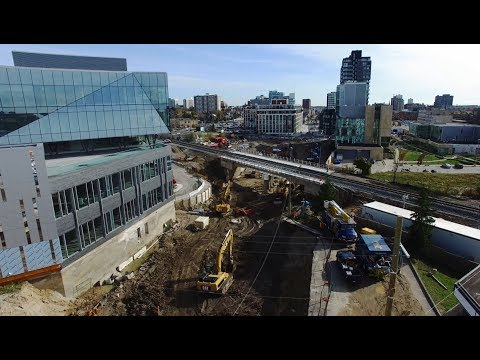 Building the King Street Grade Separation
