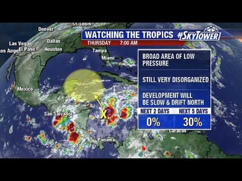 Tropical weather forecast: October 4, 2018