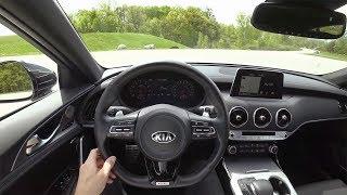 2018 Kia Stinger GT RWD - POV First Impressions (Binaural Audio)