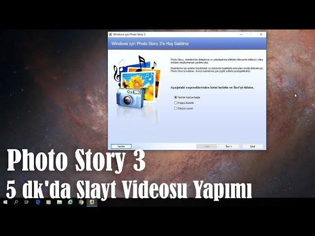 Kolay Foto Slayt Videosu Yap?m? - Photo Story 3