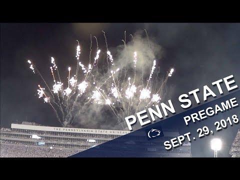 Penn State Blue Band Pregame show   Sept  29, 2018