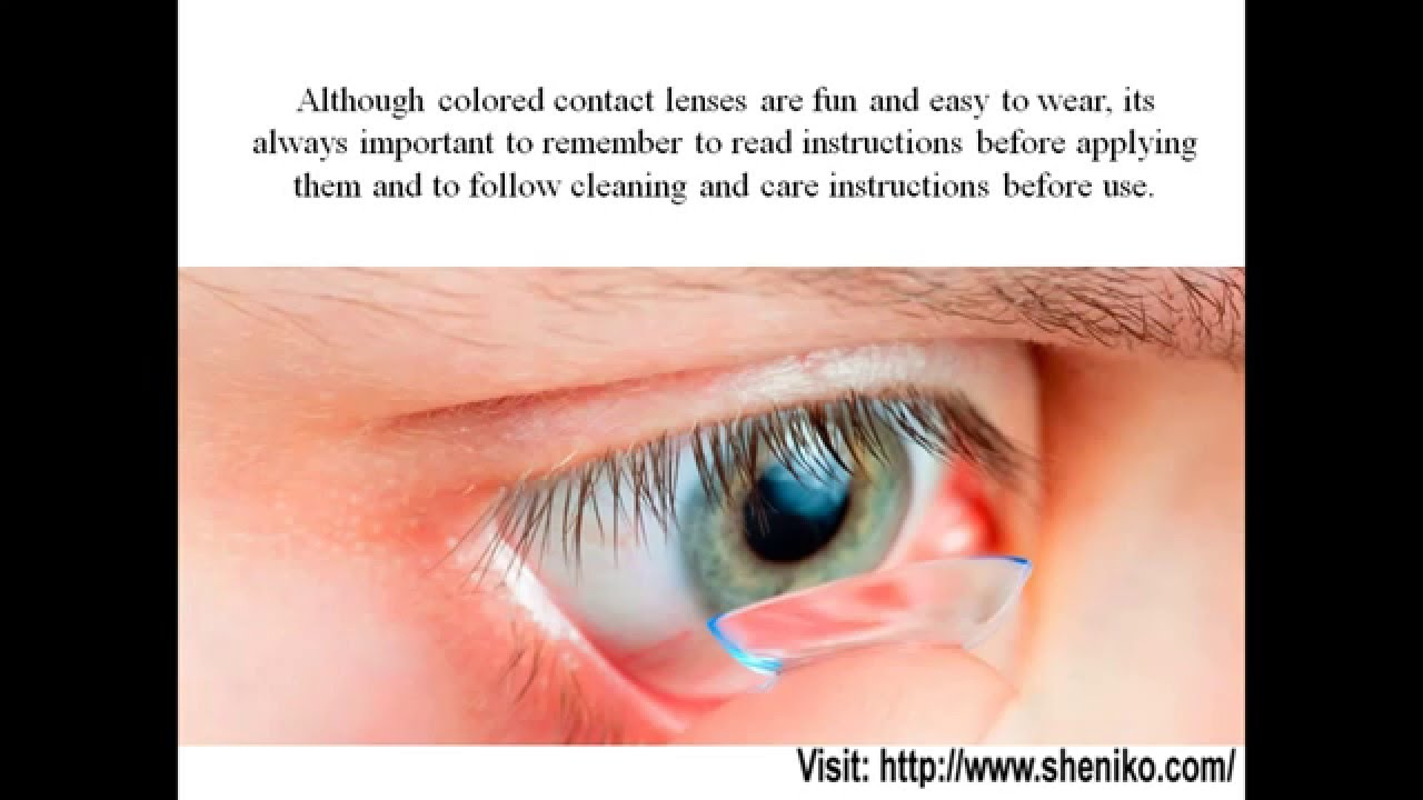 Color contact lenses online shop - Guide To Wearing Coloured Contacts Canada Canadian Online Shopping Hub