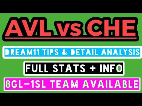 Download AVL vs CHE Dream11 Tips & Predictions   AVL vs CHE Dream11 Tips   Aston Villa vs Chelsea Dream11