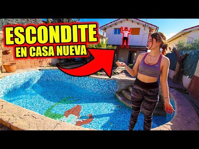 ESCONDITE ÉPICO EN NUESTRA NUEVA CASA !! 99% IMPOSIBLE ENCONTRARME EN ESTE ESCONDITE!!