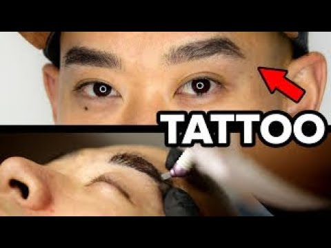 Download Youtube: A Guy Gets Microbladed Eyebrows For The First Time