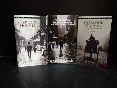 The Complete Sherlock Holmes (All 4 Novels and 56 Short Stories) by Sir Arthur Conan Doyle UNBOXING