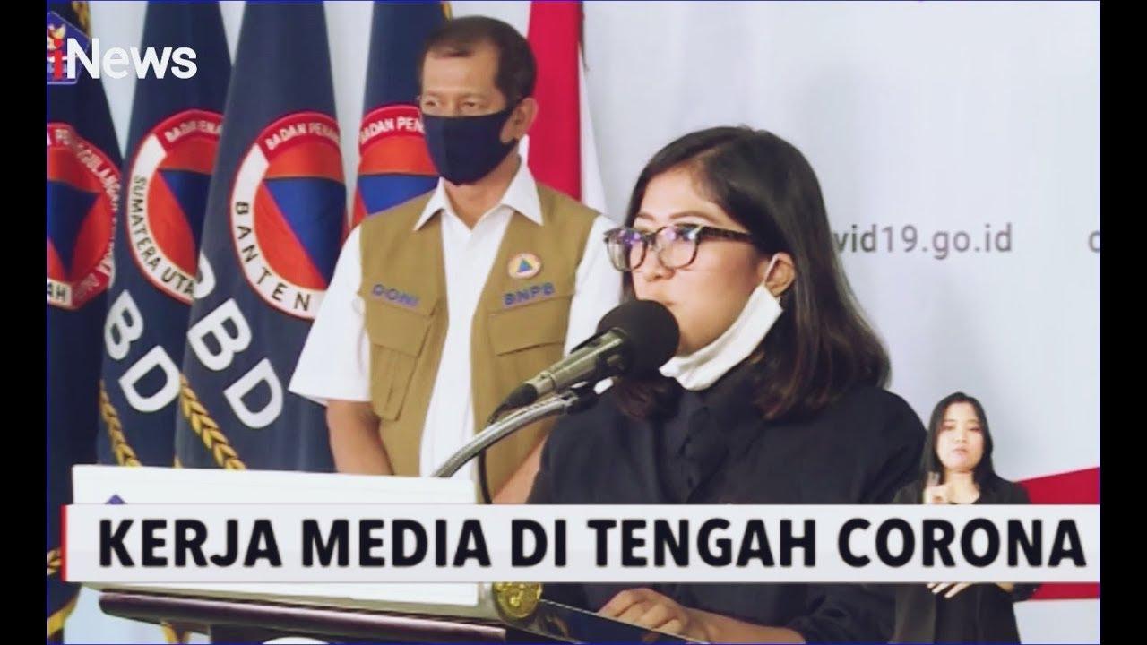 Kerja saat Pandemi Corona, Wartawan Diminta Jaga Jarak ...