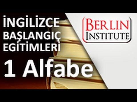 İngilizce Başlangıç Eğitimi 1 - Alfabe (HD)