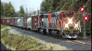 HO Incredible Scenery Transformation - CN Caramat & Kinghorn Subdivisions