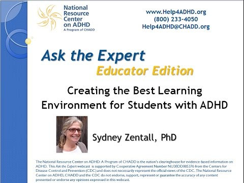 Creating the Best Learning Environment for Students with ADHD