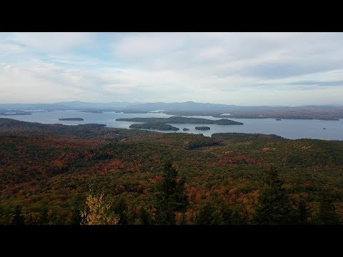 Foliage Hike, Mount Major New Hampshire 4K