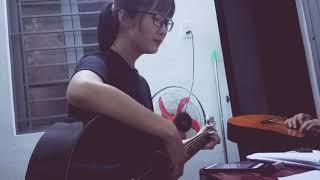 Rời bỏ - Hoà Minzy - Guitar cover (Bản quay lén :v)