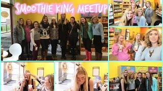 FUN MEETUP AT SMOOTHIE KING // January 2015 // Makeupkatie95 Thumbnail