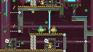 NINJA TURTLES HOSTAGE RESCUE | LEVEL 1-10 | WALKTHROUGH