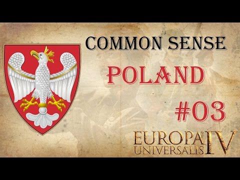 EU IV Common Sense: Polish Domination Ironman 3 | Let's play
