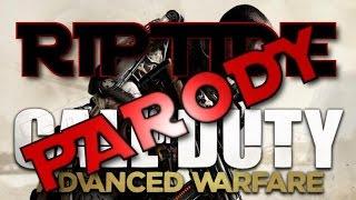 advanced warfare vance joy riptide parody