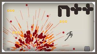 N++ | How To Explode In N++ | Let's Play N++ Gameplay