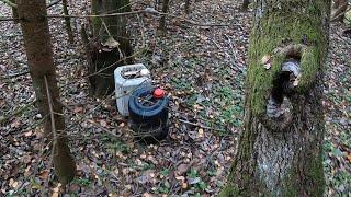 В лесу обнаружил ПОДОЗРИТЕЛЬНЫЕ контейнеры с прослушкой ФСБ