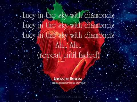 Lucy In The Sky With Diamonds - Bono {Lyrics}