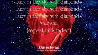 Lucy In The Sky With Diamonds - Bono {Lyrics}