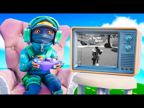 FORTNITE ON AN OLD TV!
