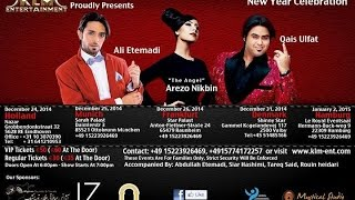 Ali Etemadi Feat. Qais Ulfat & Arezo Nikbin - Live New Year Concert Tour - Official Promo Video 2014