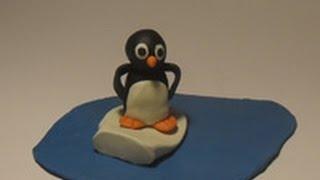 Уроки лепки для детей.Урок 22. Пингвин
