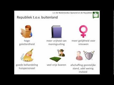 1.1 De Nederlandse Opstand en de Republiek (Rechtsstaat en democratie - Geschiedeniswerkplaats)