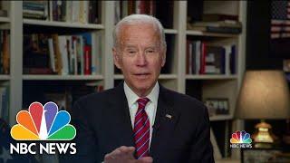 Full Biden: Trump 'Should Stop Thinking Out Loud' On Coronavirus Response | Meet The Press |NBC News