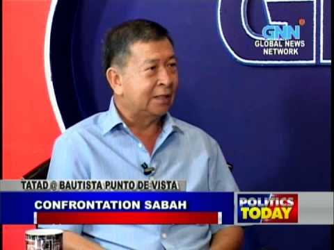 former SND Norberto Gonzales - Punta de Vista, 3 March 2013 on Sulu Sultanate and Sabah (Part 1)